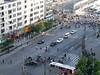 Shanghai Rush Hour from the New Century Hotel