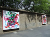 Decorative paintings on the Xian City Wall