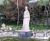 Statue at the Pond of the White Emperor Town