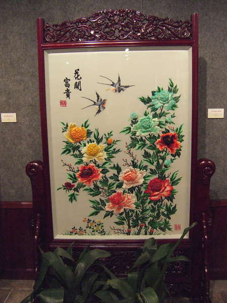 Embroidery pictures at the Chen Family Temple - Canton