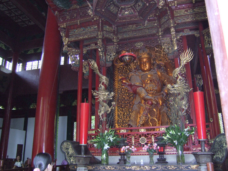 Inside a Lingyin Temple