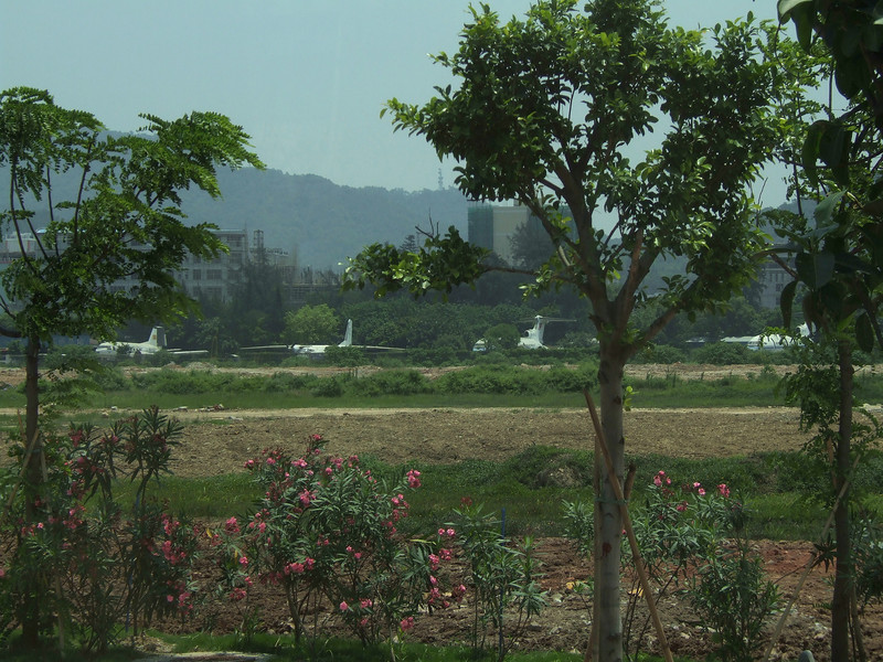 Hangzhou grew so fast they tore up the runways and left the planes......