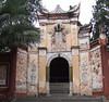 The White Emperor Town Entrance