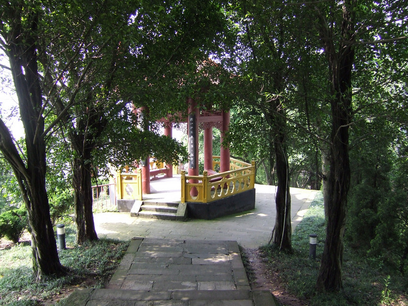 small Pagoda on the descent from the Ghost City