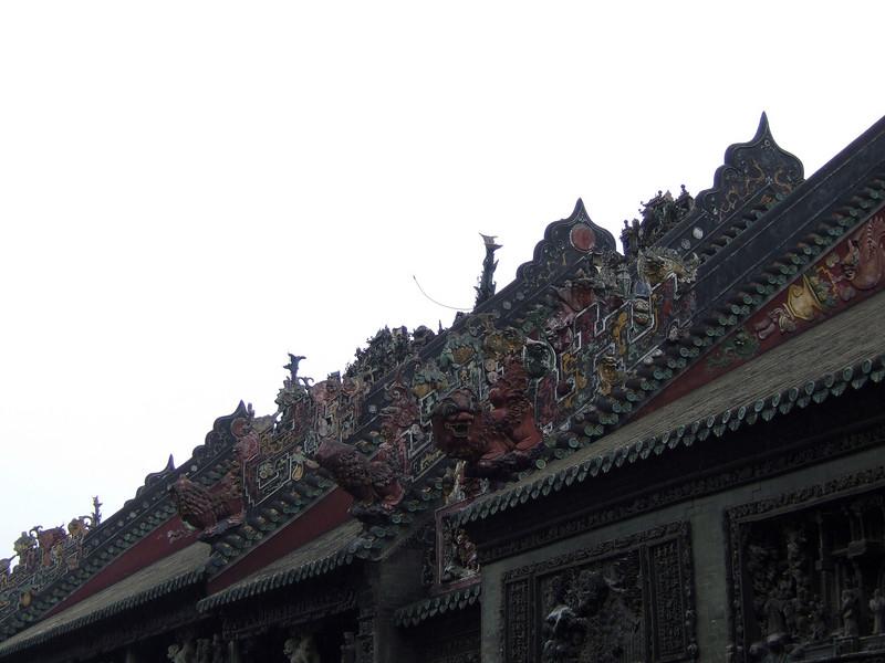Chen Family Temple architectural details....