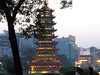 Pagoda at nightfall in Guilin