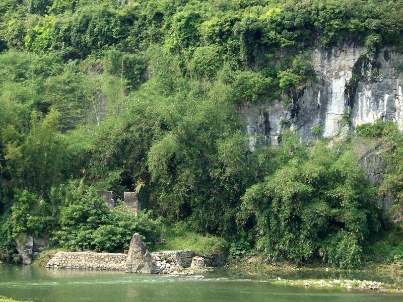 Li River Landscape on the way to Yangshuo