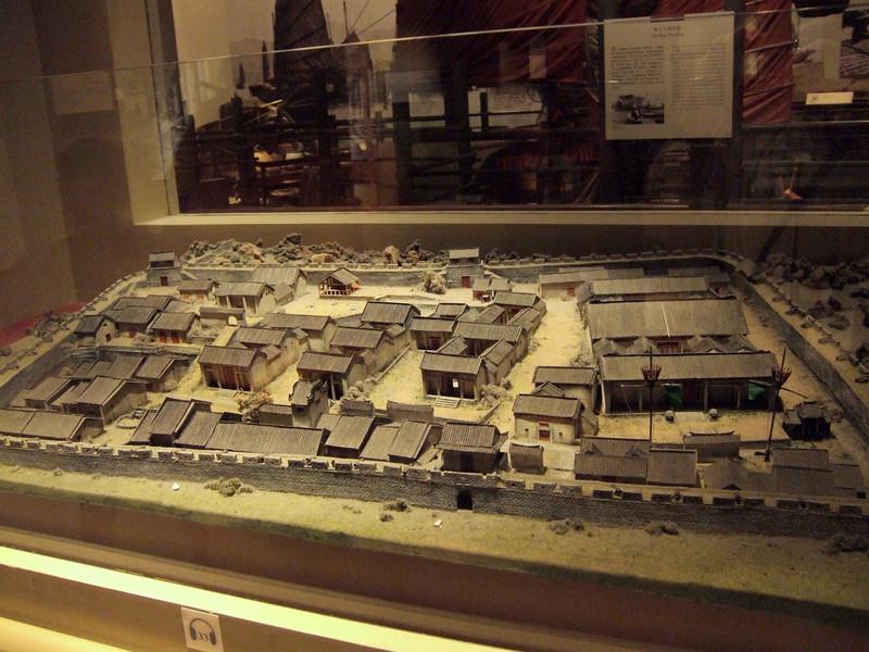 Model of old Hong Kong