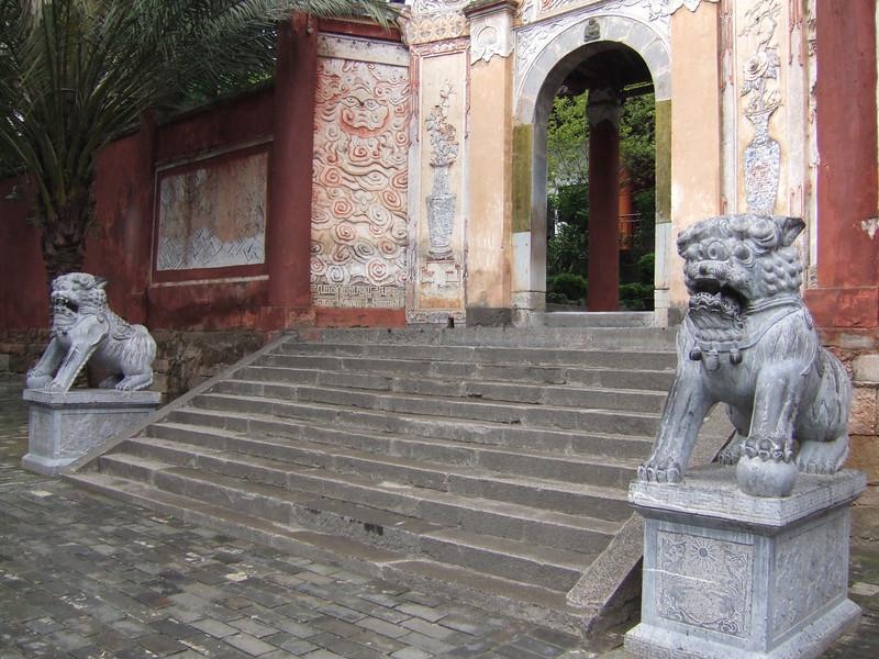 Entering the White Emperor Town