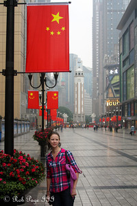 Emily on the streets of Chongqing - Chongqing, China ... October 6, 2012 ... Photo by Rob Page III