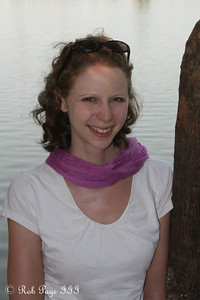 Emily enjoying the warm day along Hoan Kiem Lake - Hanoi, Vietnam ... October 11, 2012 ... Photo by Rob Page III