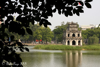 The Tortoise Temple on Hoan Kiem Lake - Hanoi, Vietnam ... October 11, 2012 ... Photo by Rob Page III