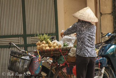 The city streets - Hanoi, Vietnam .... October 12, 2012 ... Photo by Rob Page III