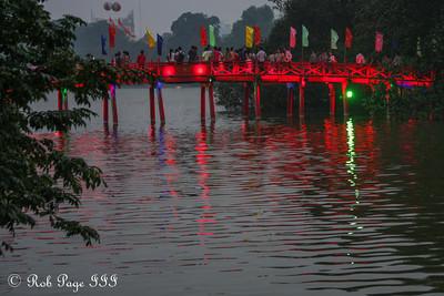 The Huc Bridge on Hoan Kiem Lake - Hanoi, Vietnam .... October 11, 2012 ... Photo by Rob Page III