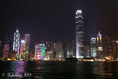 Hong Kong at night - Hong Kong ... October 13, 2012 ... Photo by Rob Page III