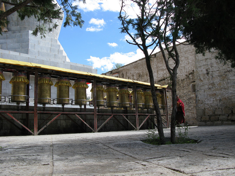 Inside the Sera Monastery - Lhasa Tibet