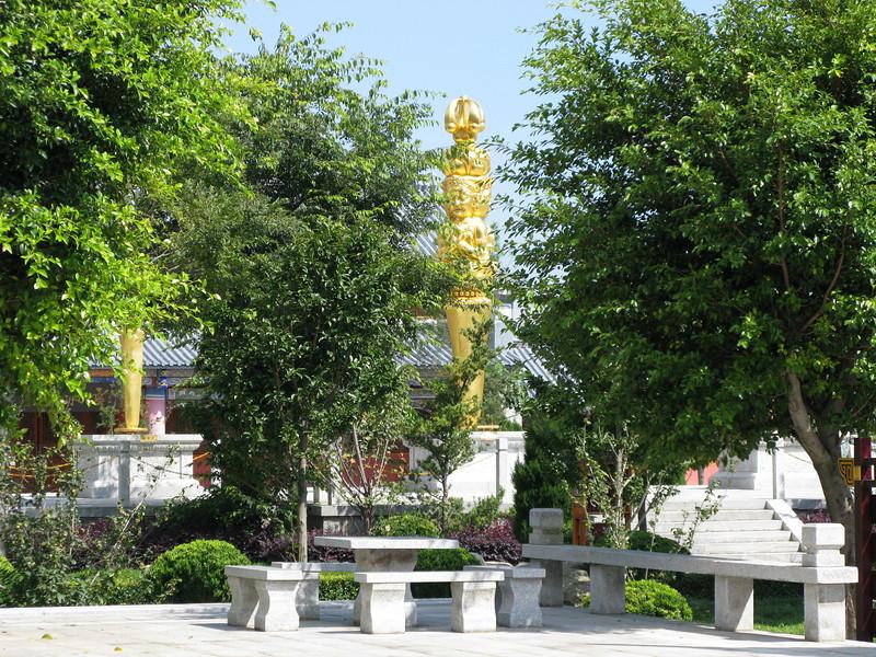 Temple Grounds at Three Pagodas - Dali