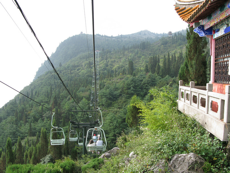 The Cable Car to Dragon's Gate