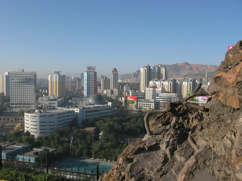 Urumqi from Red Hill Park
