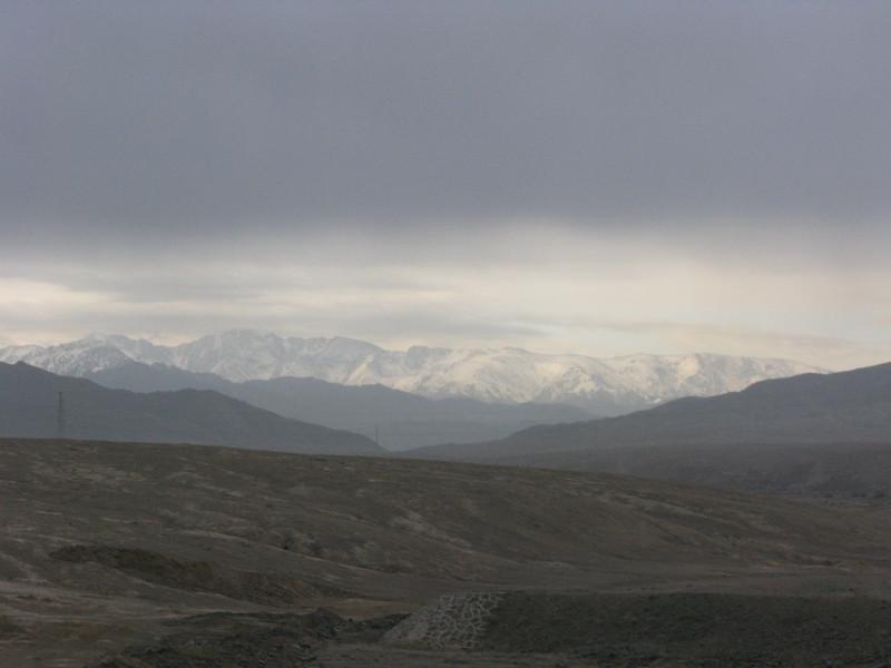 On the way to Heavenly Lake - Urumqi
