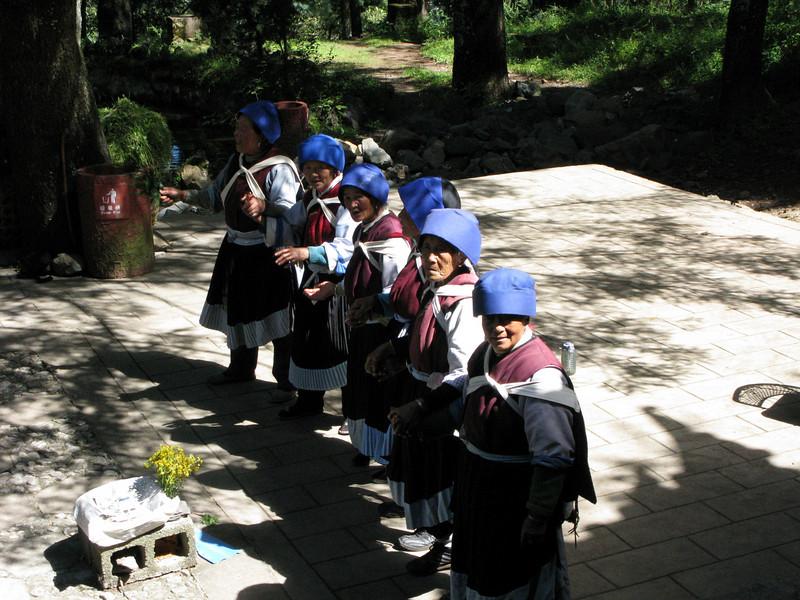 Outside the Yufeng Monastery
