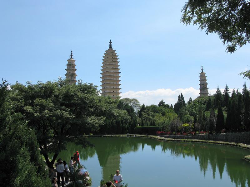 Three Pagodas - Dali