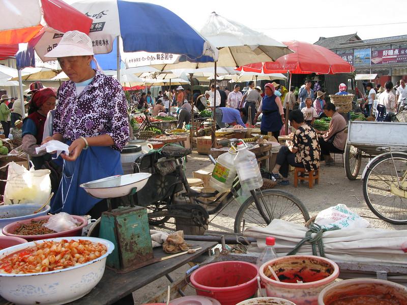 Fresh Food Market at Lijiang