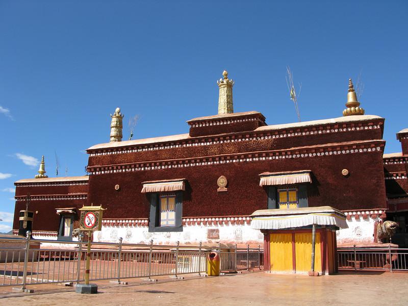 Top of Potala Palace
