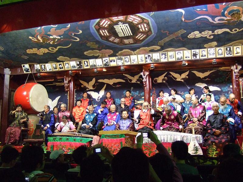 Musicians at Old City of Lijiang