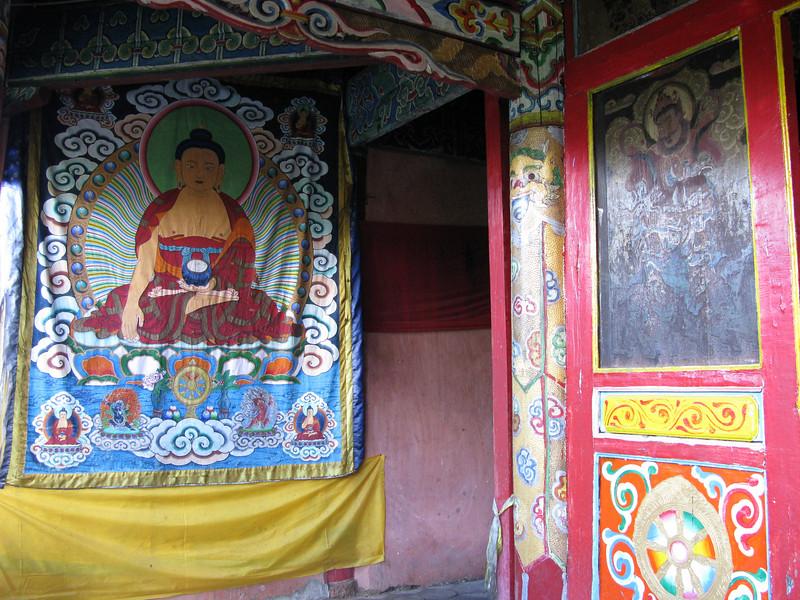 Inside Yufeng Monastery - Lijiang