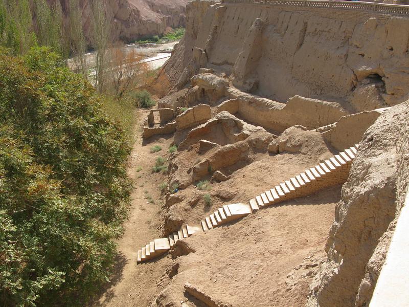 Thousand Budda Caves site