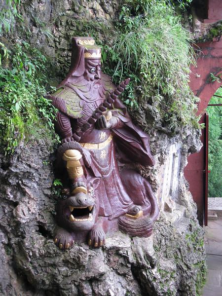 at Dragon's Gate in Kunming