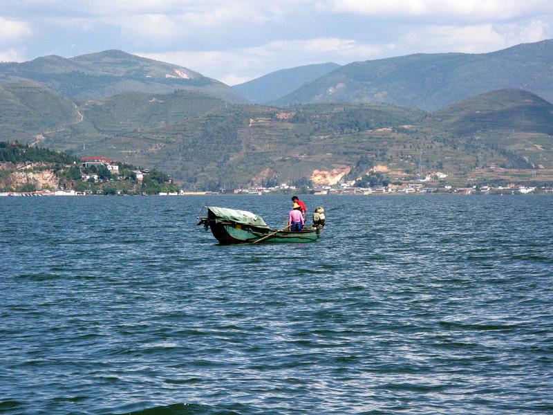 Erhai Lake outside Dali