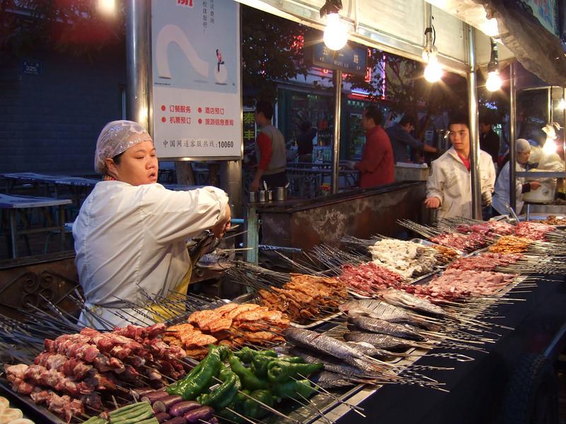 Night Market - Urumqi