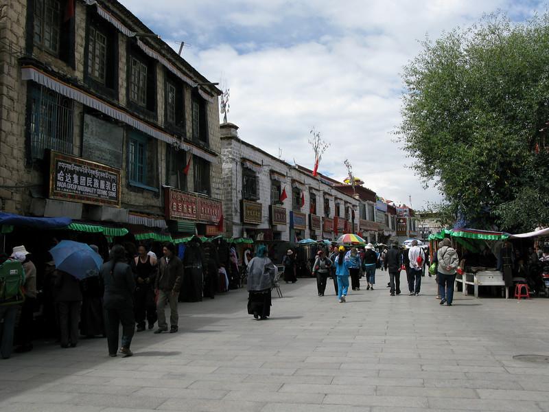 Barkhor - Pilgrim's Circuit Shopping Bazaar - Lhasa Tibet