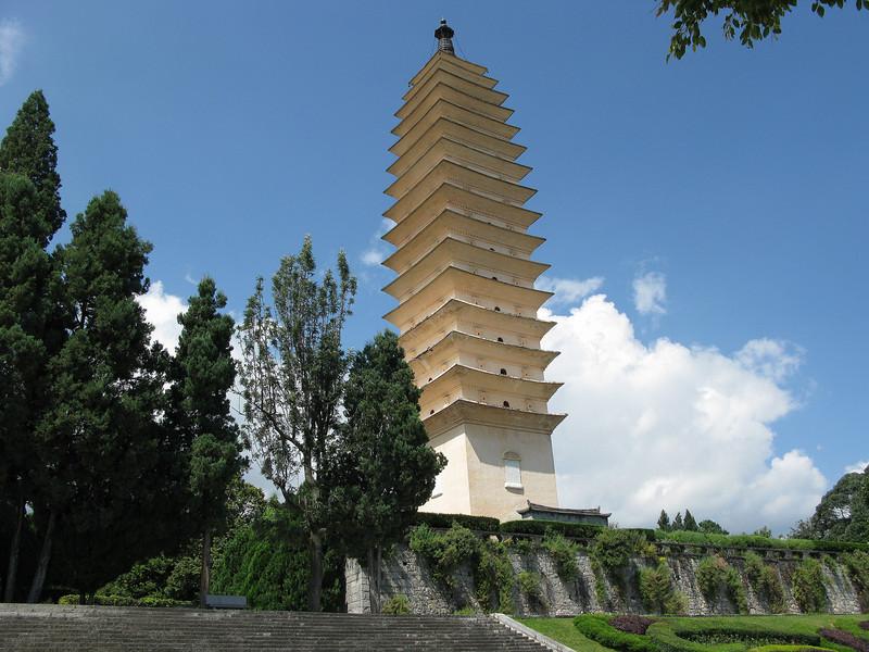 The Center Pagoda at Three Pagodas - Dali