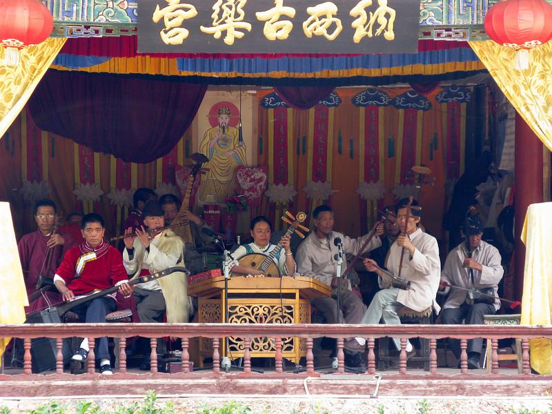 Orchestra at Black Dragon Pool - Lijiang