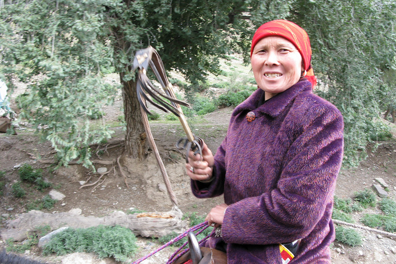 Kazakh Sheep Herder