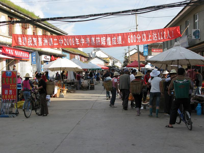 Street Bazaar at Lijiang