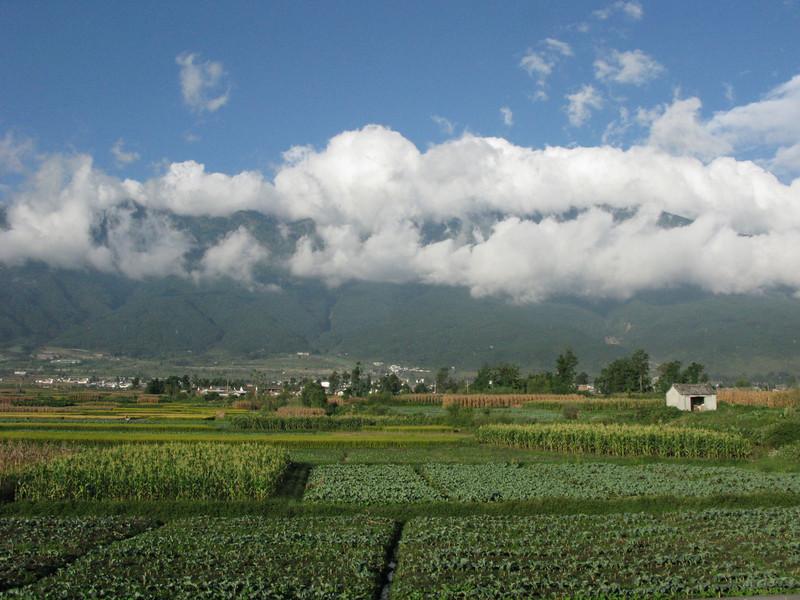 Farming outside Lijiang