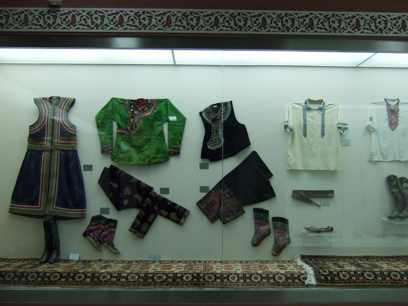 Clothes in the Xinjiang Autonomous Region