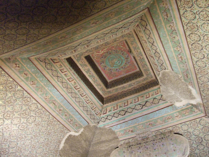Ceiling of a Mogao Grotto