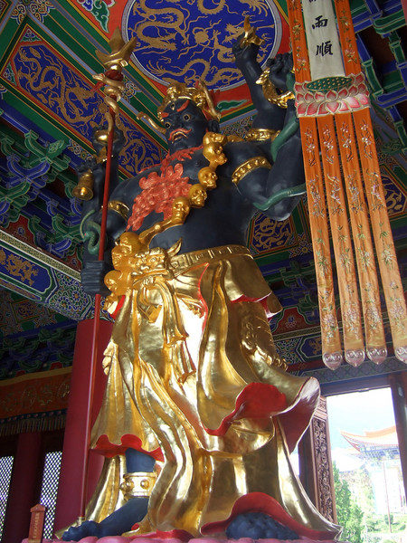 In Three Pagodas Temple