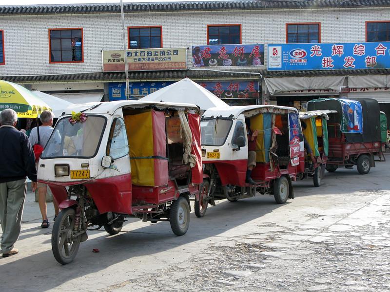 Outside the Bazaar at Lijiang