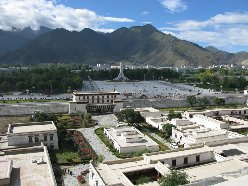 The Plaza from Potala Palace