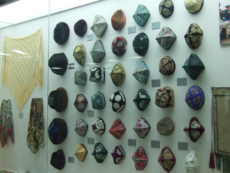 Hats used in the Xinjiang Autonomous Region