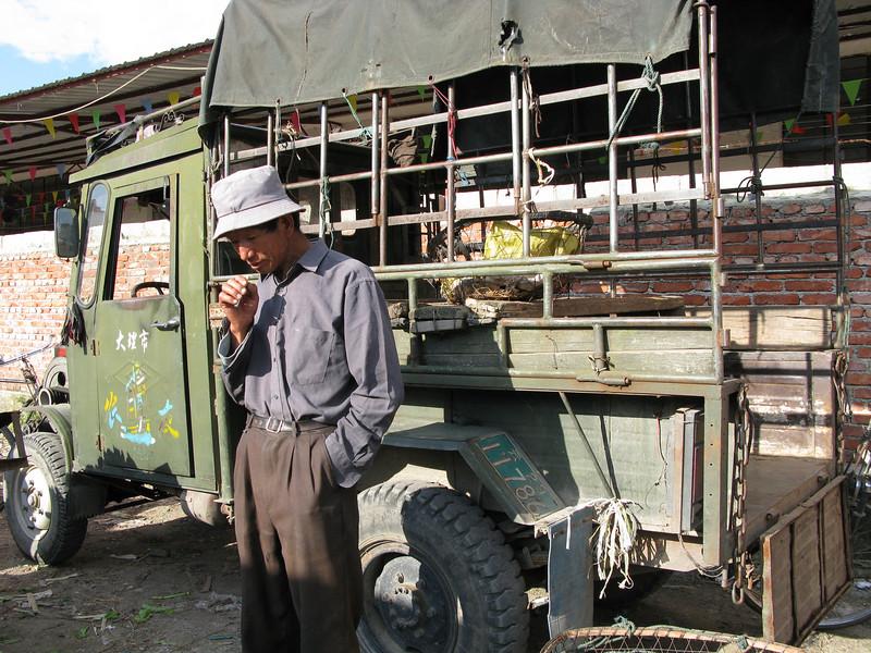 Food Transporter for the Lijiang Fresh Food Market