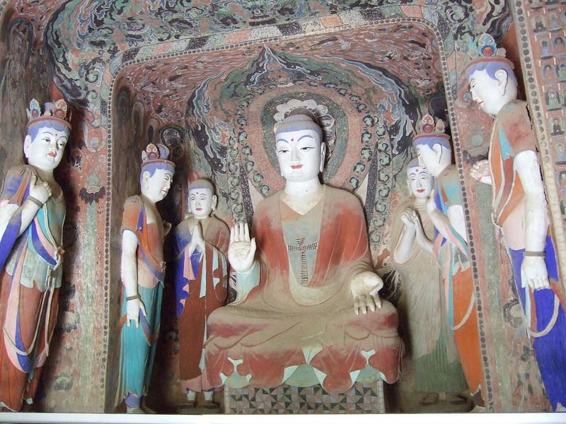 Inside a Mogao Grotto