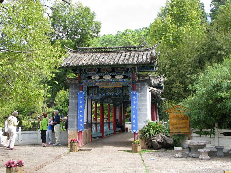 Green Bridge at Black Dragon Pool - Lijiang