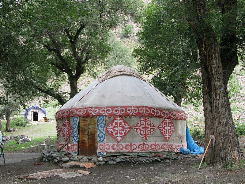 Kazakh Yurt Home